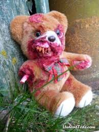 valentines day stuffed animals undead ted s just in time for s day grisly images