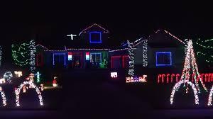fun christmas lights synchronized to music imposing decoration