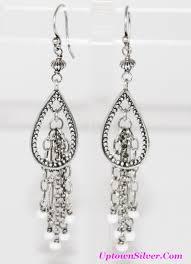 Long Chandelier Earrings Dangle Earrings W1558 Shop Our Selection Of Silpada 2 75 Inch Long Chandelier