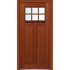 32 X 80 Exterior Door Mmi Door 32 In X 80 In Low E Glass Right Craftsman 2 Panel