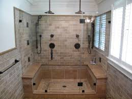 Showers Without Glass Doors Extraordinary Shower Without Door Designs Pics Ideas Surripui Net