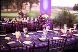 amazing purple table decorations for weddings 27 in wedding table