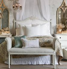 louis xvi french country white cotton upholstered headboard