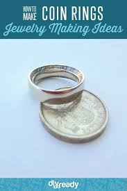 make rings images How to make coin rings diy projects craft ideas how to 39 s for jpg