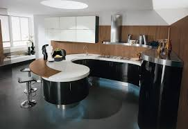 Modern White Kitchen Cabinets Round by Round Kitchen Island For Modern Kitchen Design Ideas Round Kitchen