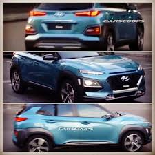hyundai kona spyshots pictures thanks to carscoops hyundai
