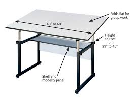 Drafting Table Dimensions Drawing Table Dimensions Workmaster Drafting And Drawing Tables