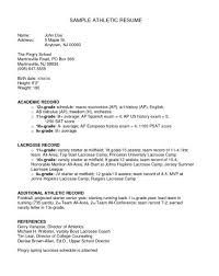 Sample Athletic Resume by Tim Hortons Resume The Best Resume