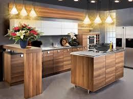 cuisine moderne bois idée deco cuisine moderne bois