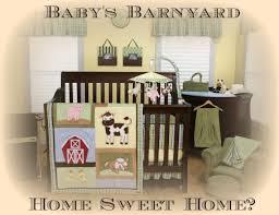 Farm Animal Nursery Decor Farm Animal Nursery Barnyard Baby Decor And Bedding