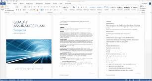 Quality Assurance Excel Template Quality Assurance Plan Template Thebridgesummit Co