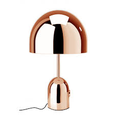 bell table light copper xcelsior selection online store