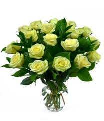 green roses 18 green bouquet vase at from you flowers