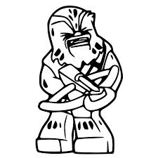 lego chewbacca silhouette cameo lego chewbacca