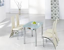 accessories small glass kitchen table sets chair round glass