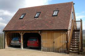 garage loft ideas border oak oak framed garage with accommodation above hubby