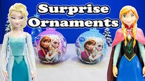 frozen disney elsa princess ornaments toys