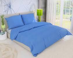 Modre by Francúzské Krepové Obliečky Modré 240x200 70x90cm Kvalitex Sk