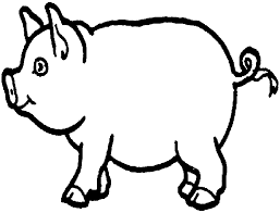 coloring beautiful pigs coloring pages free peppa pig