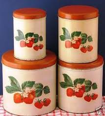 vintage canisters for kitchen 21 best vintage kitchen canisters images on kitchen