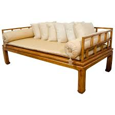Teak Wooden Sofas Mid Century Daybed In The Style Of Baker Furniture Far East
