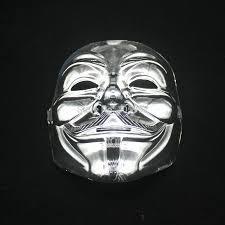 100 pcs movie theme v for vendetta mask halloween full face