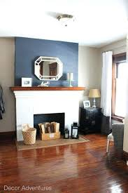 fireplace accent wall ideas espresso floor accent wall paint ideas