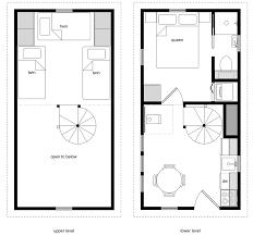 12x24 twostory 5 tiny house design tiny house floor plans 24 x 12