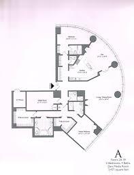 Floor Plans Chicago Trump Tower Condos Floor 29 Floor Plan