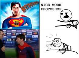 Super Man Meme - footy memes on twitter messi is superman http t co 5699cdgl