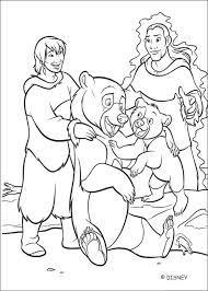 brother bear 42 coloring pages hellokids