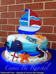 nautical cake my creative way 1 tier wavy nautical cake