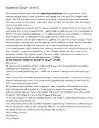 cover letter design experience ios developer cover letter sample
