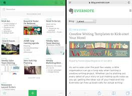 evernote for ios adds sketching handwriting in notes ipad split