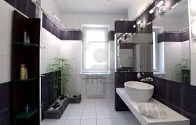 small bathroom black and white floral shaped lighting white free
