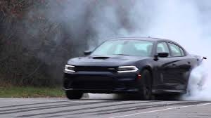 charger hellcat burnout 2015 dodge charger hellcat burnout youtube