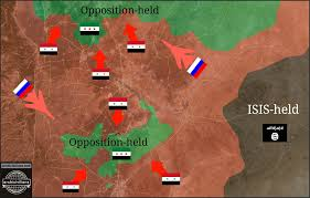 Syria War Map by Syria Maps Archicivilians