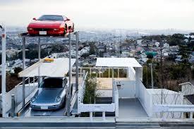 modern house on hillside offers interesting solution for more