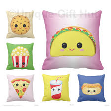 Kawaii Room Decor by Food Pillow Cute Throw Pillow Series 2 Home Decor Kawaii