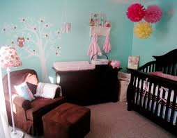 Nursery Decorating Ideas For An Owl Themed Baby Girls Room Chic - Cheap bedroom ideas for girls