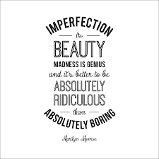 imperfection marilyn monroe quote wall sticker by leonora hammond imperfection marilyn monroe quote wall sticker
