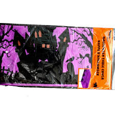 spooky tree halloween decor gothic spider web creepy cloth print cover halloween decoration