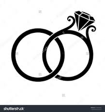 intertwined wedding rings intertwined wedding rings clipart free images at clker