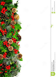 christmas holly border royalty free stock image image 11713406