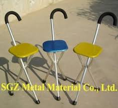 Walking Stick Chair Magnesium Alloy Walking Stick Chair Sgz China Manufacturer