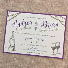 vineyard wedding invitations outdoor vineyard wedding invitation