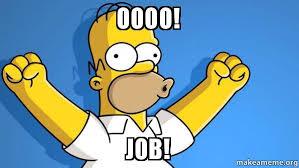 Oooo Meme - oooo job happy homer make a meme