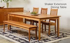 Wood Kitchen Table With Bench And Chairs Dining Room Furniture Handcrafted Wooden Furniture