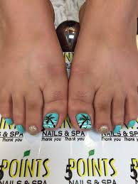 the hawaiin pedicure with palm tree design yelp