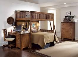 Bunk Bed Systems With Desk Loft Bed With Desks A Solution To Optimize The Space